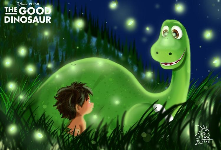 Good Dinosaur - Pixar - illustration - dansiqueira | ello