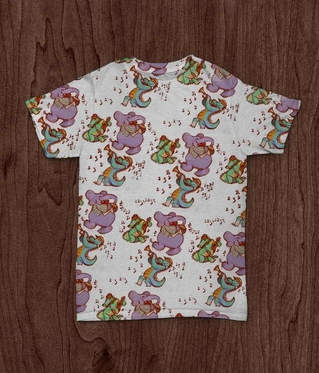 Jammin animals - patterns, design - vshek | ello