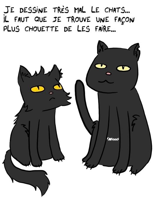 Cats - blackcats - tahyssewanzoul | ello