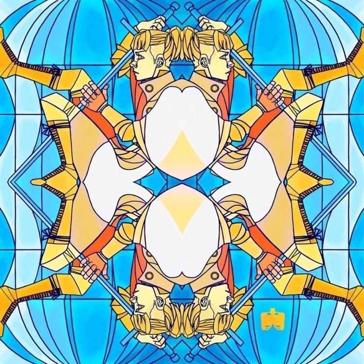 Princess - illustration, digital - nanofemur | ello