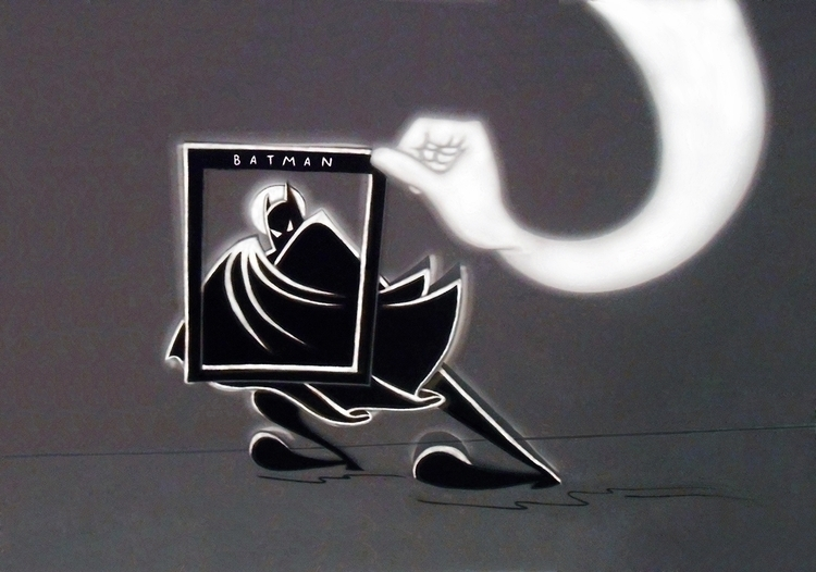 play light shadow. Batman.= - halynapovhanych   ello