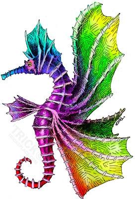 Skyhorse - skyhorse, skyhorse, seahorse - trick-6303 | ello