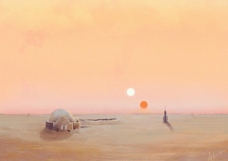Tatooine - realised environment - aferova | ello