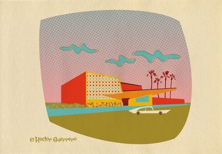 Illustration inspired City Cent - apeles | ello