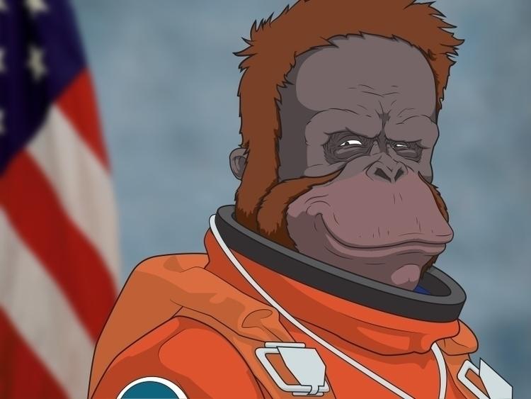Space Monkey Hall Fame series f - 7robots   ello