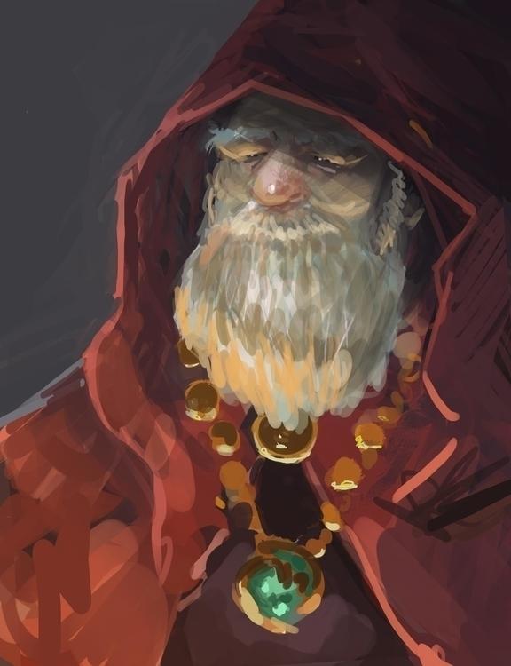 Merchant King - characterdesign - nickadrian | ello