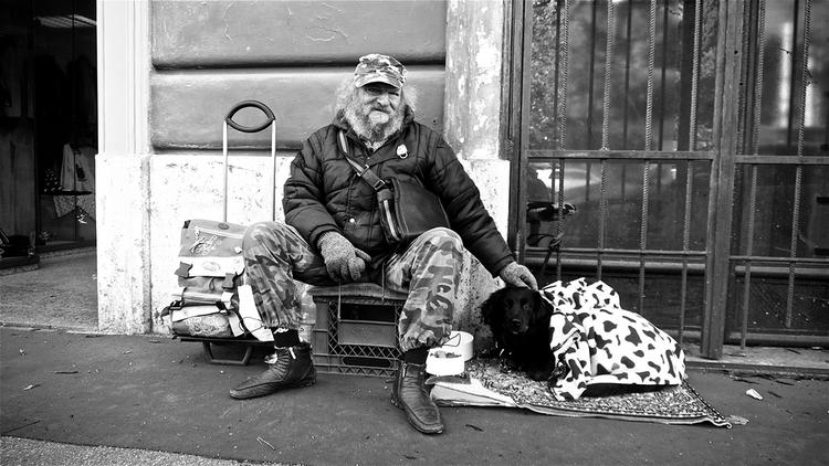Ivan - rome, homeless, rhomeless - stefanolazzaro | ello