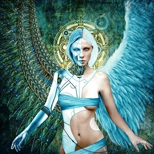 ANGEL - illustration, carlosvillas - carlosvillas | ello