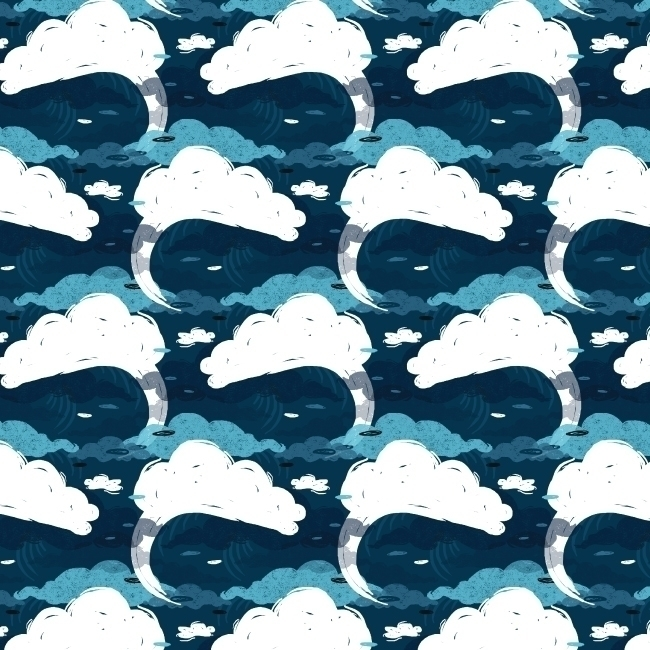 pattern, patterndesign, sea, ocean - stephaniekubo-8873 | ello