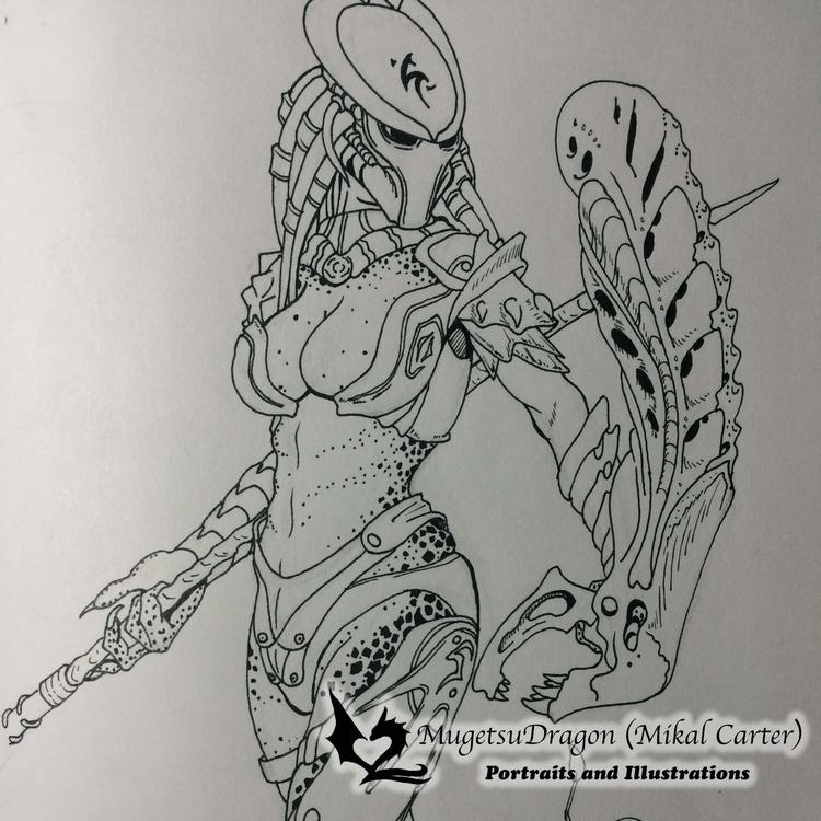 Female Predator - predator, female - mugetsudragon | ello
