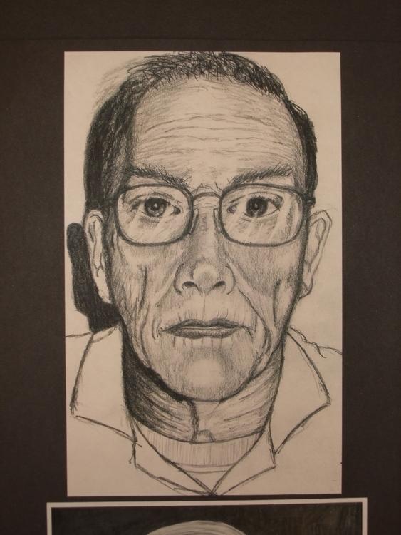 Sketch sitter, Portrait Demonst - stevenhart | ello