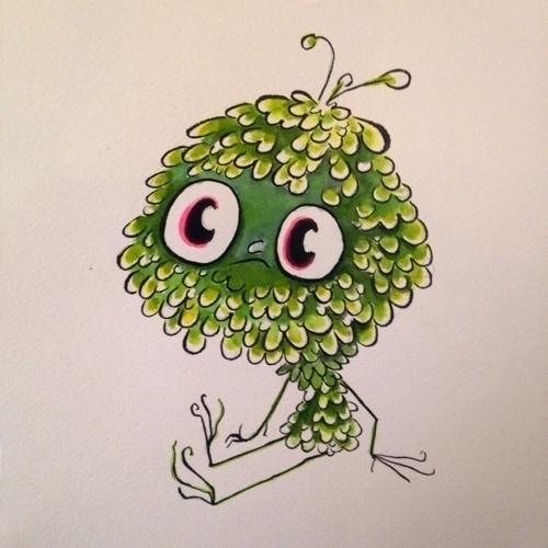 sappy soggy green guy - osterjoy | ello
