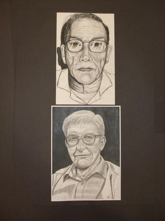 Gentlemen Pencil - drawing, portrait - stevenhart | ello