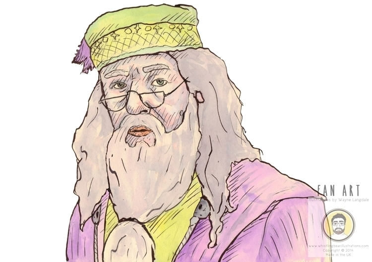 Harry Potter fan art ink - harrypotter - whistlingbear   ello