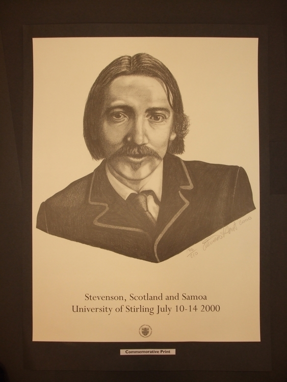 Robert Louis Stevenson - drawing - stevenhart | ello