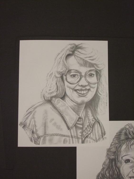 drawing, portrait, pencil, portraiture - stevenhart | ello