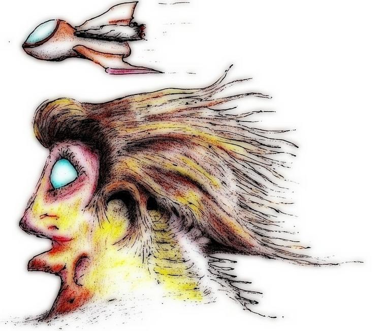 Abstract - drawing, illustration - cheechwiz | ello