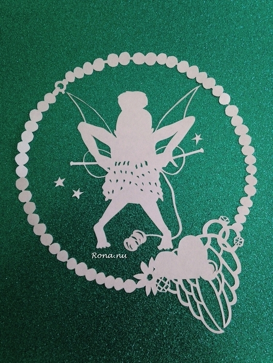 Tante Tinkerbell - papercut, fairy - rona-5961 | ello