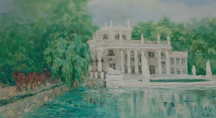 Homestead 100x180 Oil canvas. 2 - tanya_vasilenko | ello
