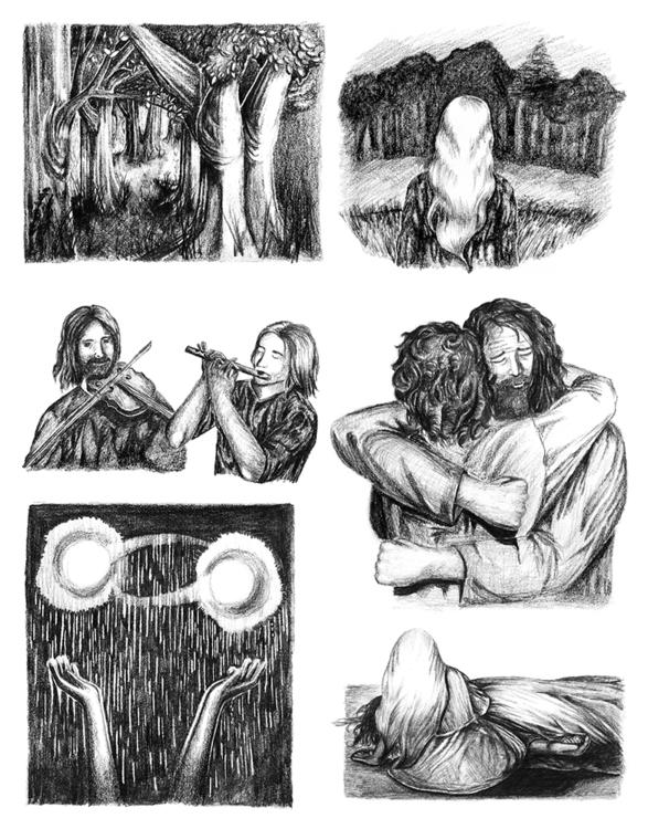 illustrations Ingrid, book illu - abigailkraft | ello