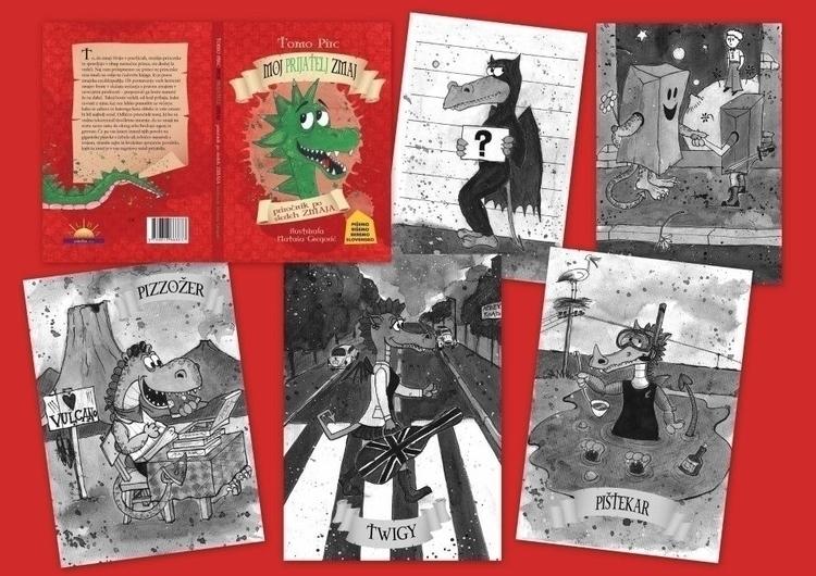 Teen book: friend Dragon / Moj  - zoya2016 | ello
