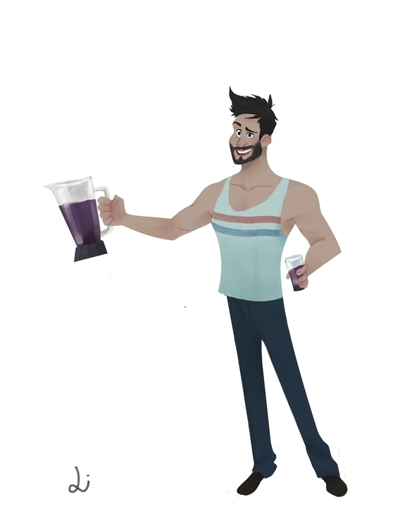 boyfriend favorite drink: açai - liviaconstante | ello