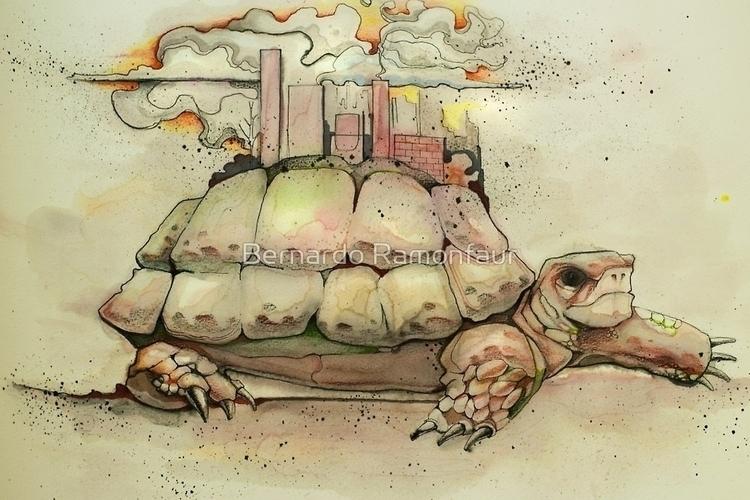 Hand drawn watercolor illustrat - bernardojbp | ello