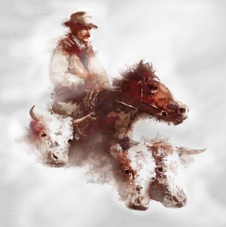 Cowboy Winter - brazwally | ello