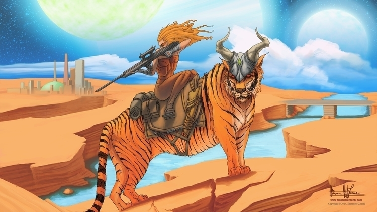 Ranger world. EZ - illustration - ez-1266 | ello