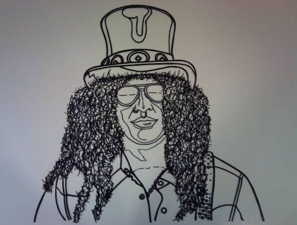 Slash Outline Created Permanent - stevenhart | ello