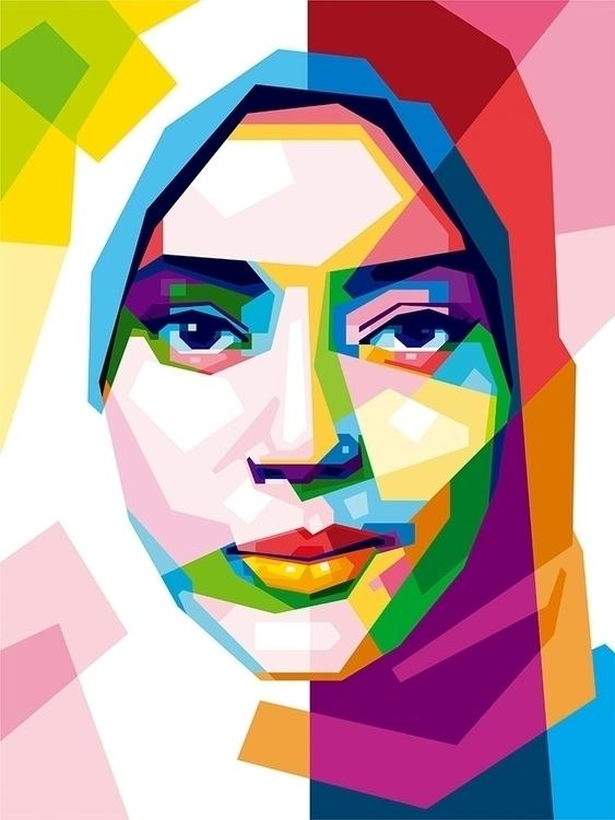 Hasna - digitalart, art, artwork - hendrixs_94 | ello