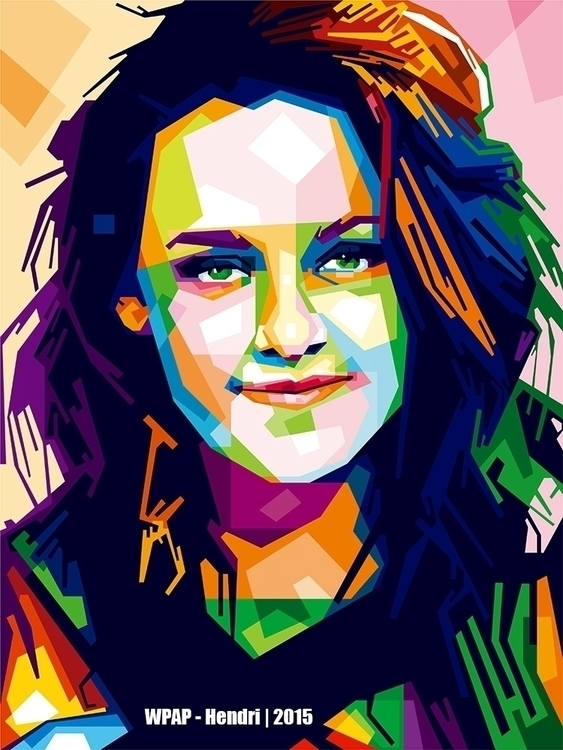 Kristen Stewart - illustration, digitalart - hendrixs_94 | ello