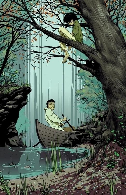 Poster album art Dan Heidt - illustration - ericscottpfeiffer | ello