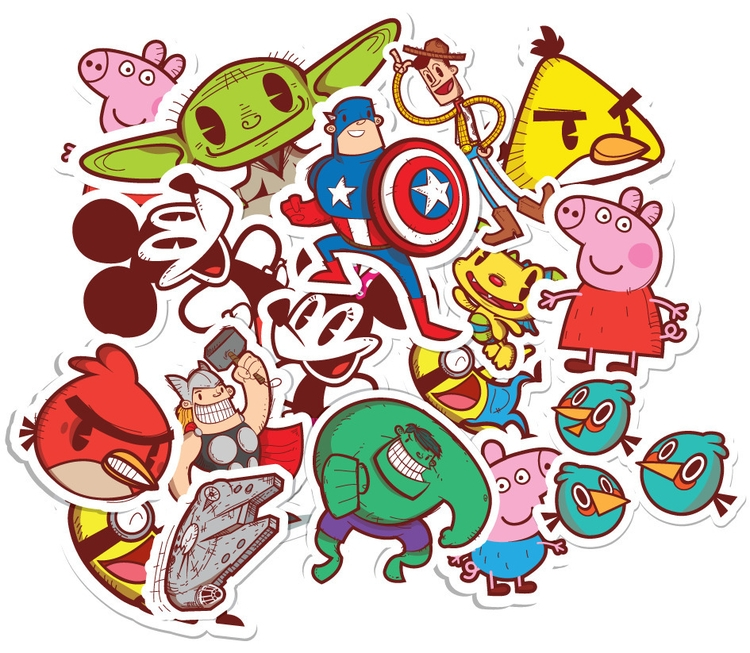 Graphics mural - marvel, disney - jriveraviles | ello