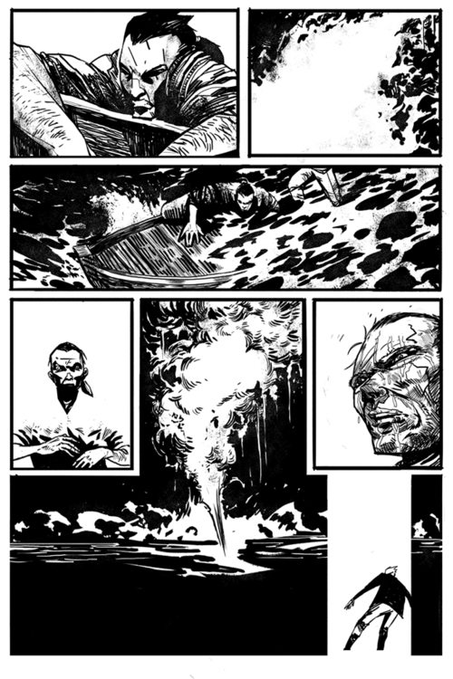 Page Scrimshaw - comics, digital - ericscottpfeiffer   ello