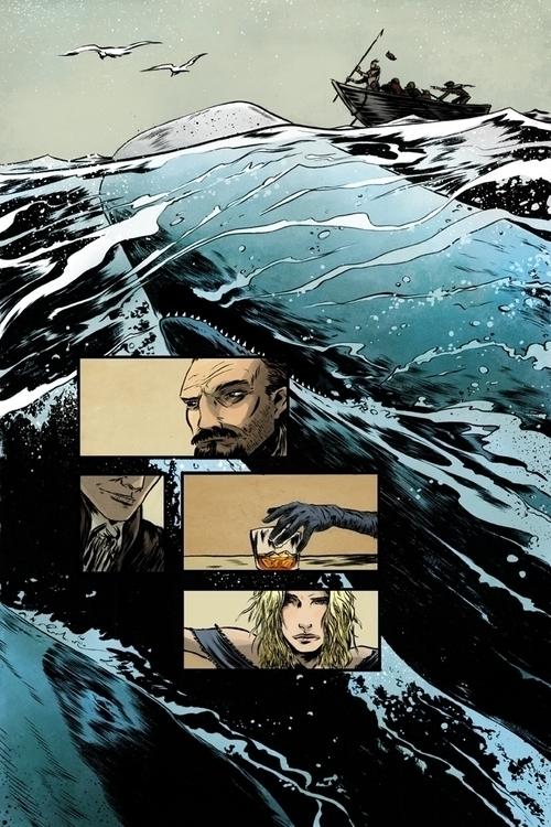 Page Scrimshaw - scrimshaw, comics - ericscottpfeiffer   ello