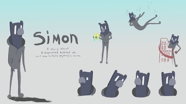 Character Design Thesis Film - characterdesign - derptin | ello