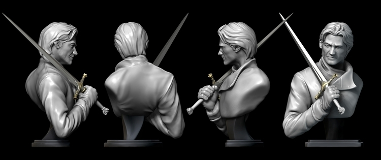King Slayer - Likeness study - 3dmodel - tvidotto | ello