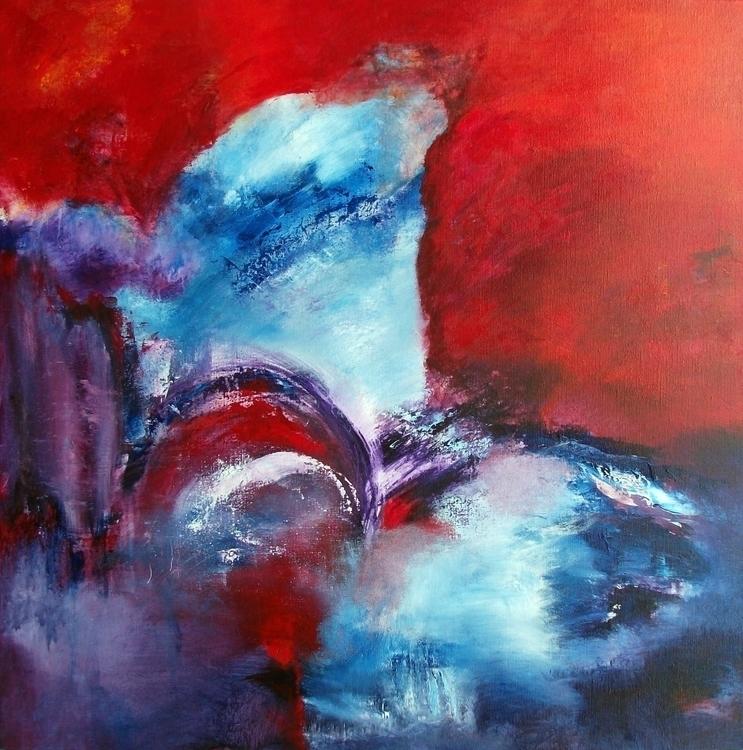Spiritual Wave 90 cm - painting - xplore-1239 | ello
