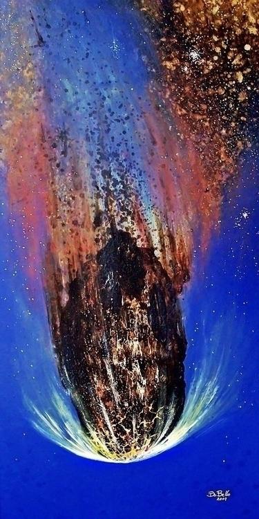 Apophis, 2007, oil canvas, 48x2 - timeship | ello