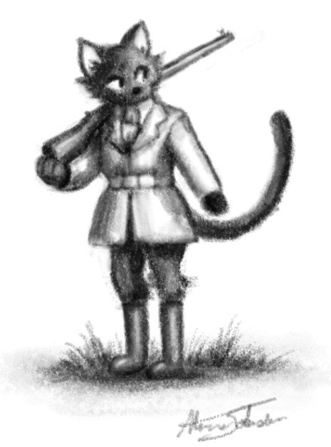 Beatrix Kitty Boots, love chara - alexjohnston   ello