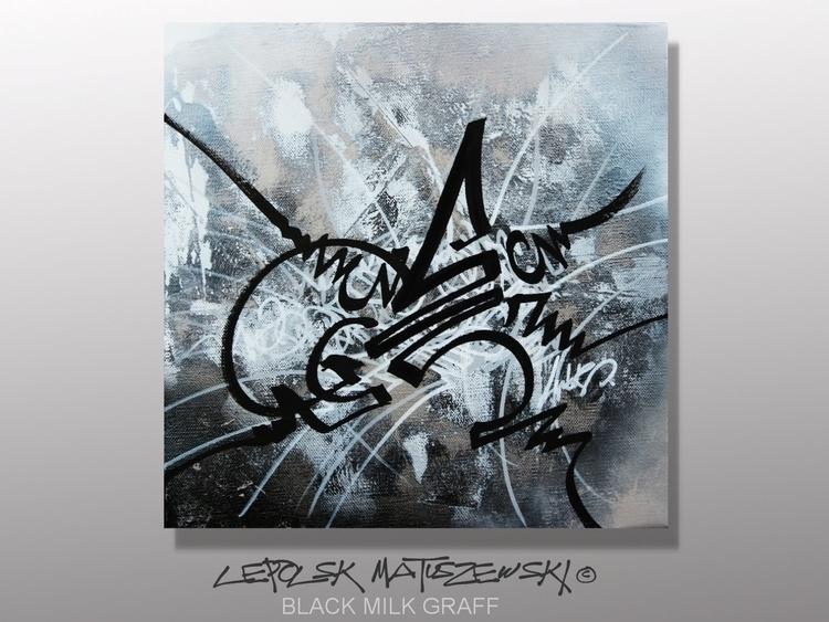 BLACK MILK Lepolsk 30x30cm abst - lepolsk-1257 | ello