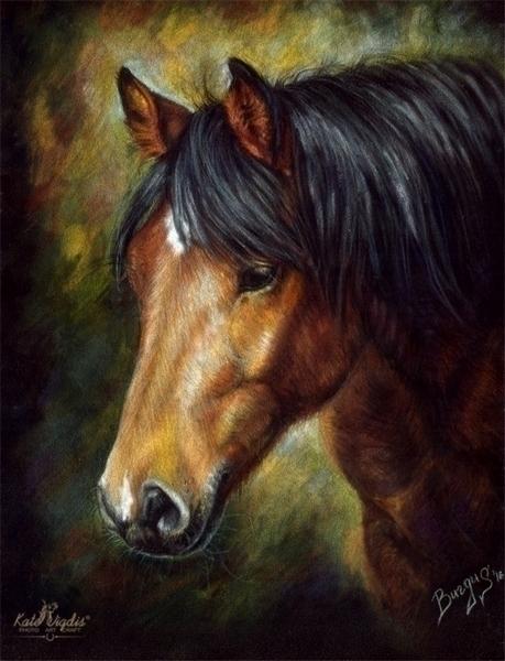 Pastel paper - illustration, painting - kate_vigdis | ello