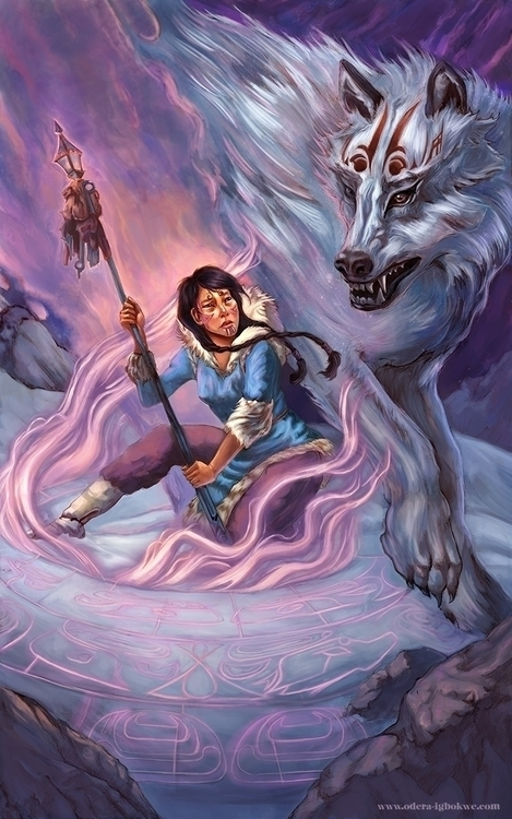 Gaslight Dogs - illustration, fantasy - odera | ello