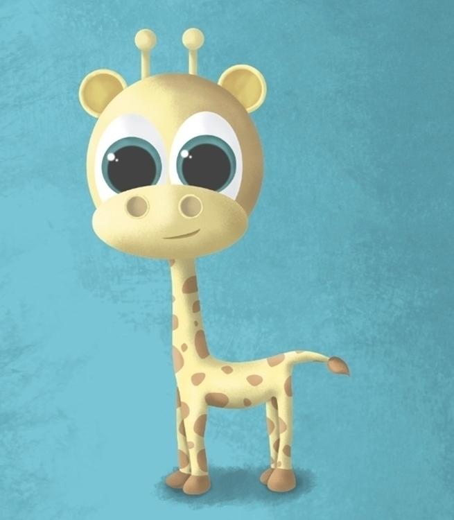 Jirafa - giraffe, animals, character - ainaragm | ello