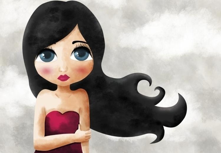 Maite - girl, nostalgia - ainaragm | ello