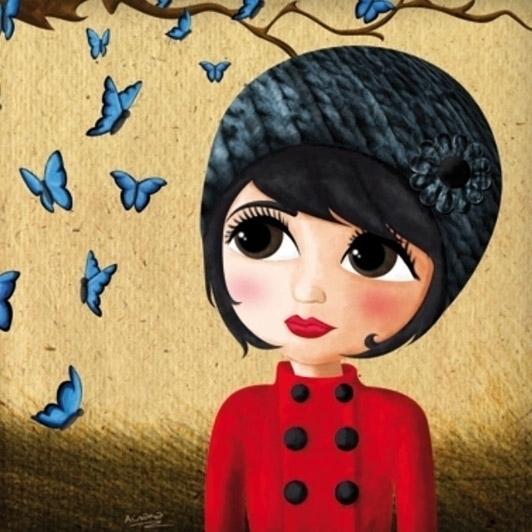 Autum - autumn, girl, nostalgia - ainaragm | ello