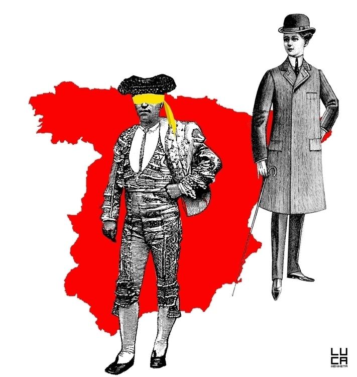 #collage, #politic - lucamendieta | ello