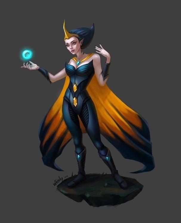 Space colonist concept - characterdesign - alexandratokaruk | ello