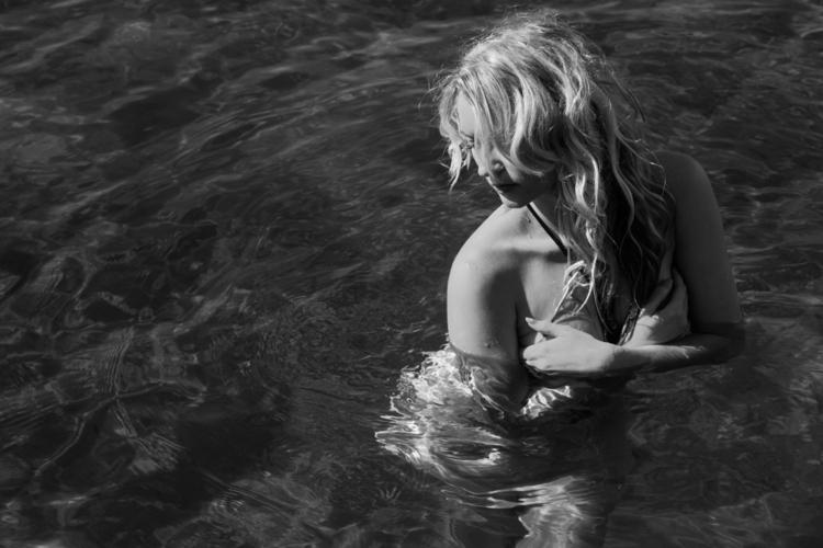 Lost sea - photography, girl, art - lincoln_inc | ello